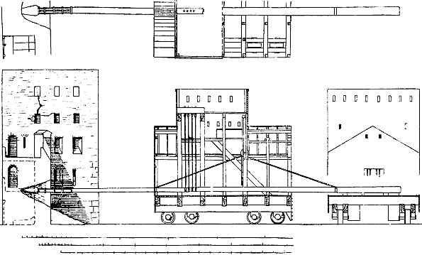 Korakes fatti costruire da Demetrio per sfondare le mura di Rodi