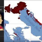 Evoluzione dei confini della Repubblica di Venezia