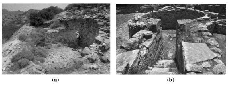 Cisterna per l'acqua nell'antica città di Ammotopos (IV secolo d.C.)