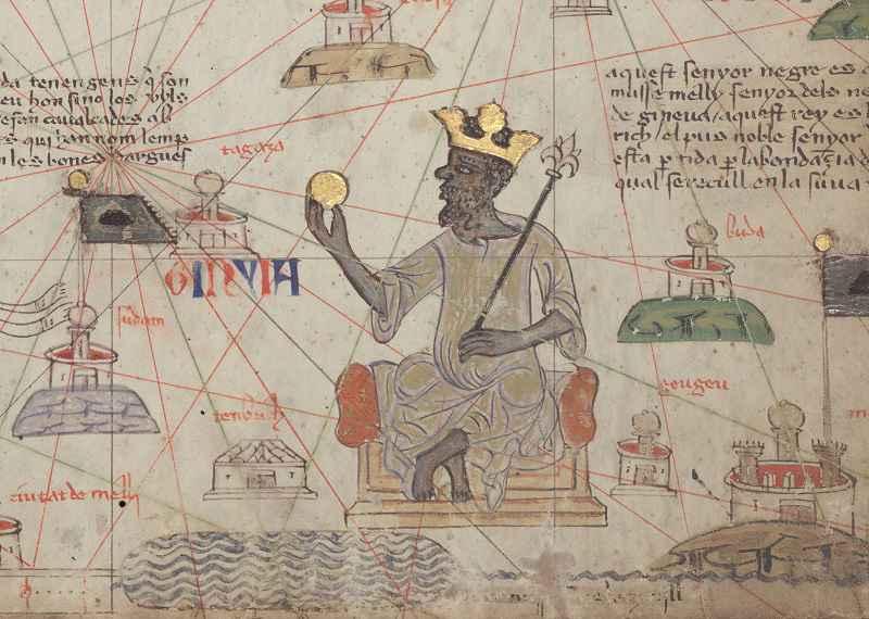 Mansa Musa nell'Atlante catalano del 1375
