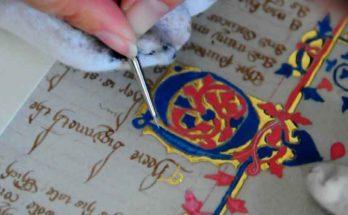 La creazione di un manoscritto medievale