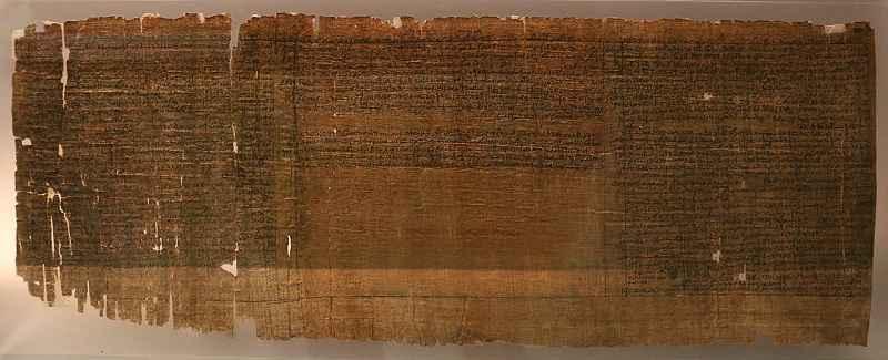 Papiro X di Leida