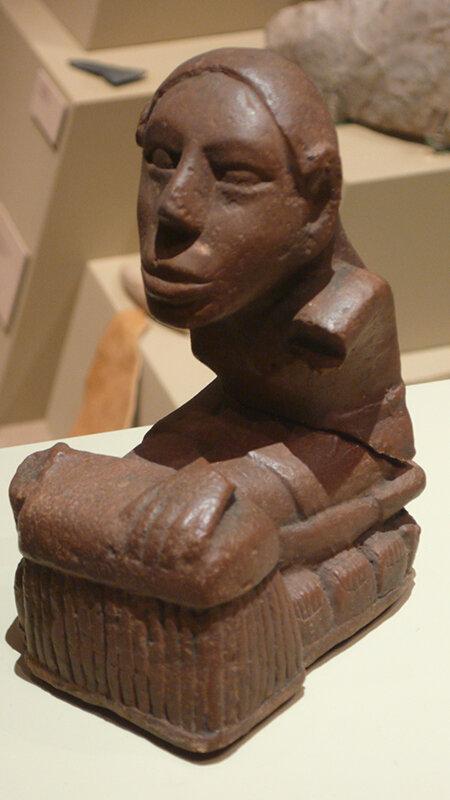 Statuetta Keller, una delle molte trovate lungo il Mississippi