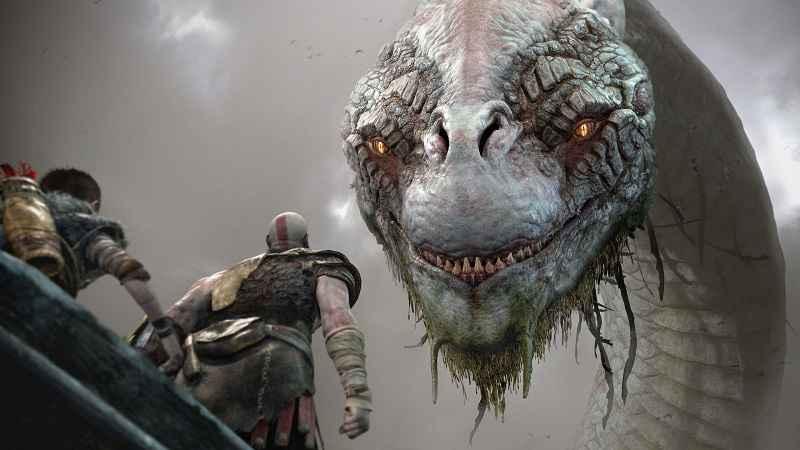 Il serpente di Midgard ha fatto di recente la sua apparizione videoludica nel gioco God of War