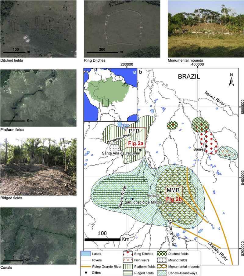 Le modifiche all'ambiente apportate dai primi abitanti di Llanos de Moxos