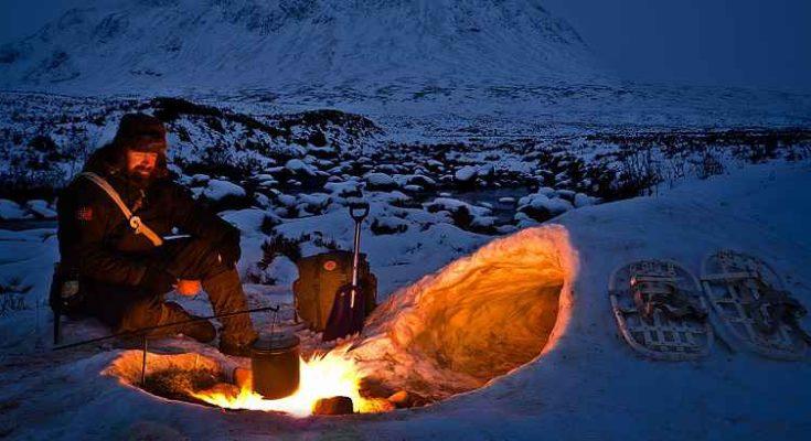 Quinzhee, il rifugio di neve