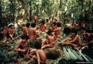 Yanomami indigenous in the Amazon jungle