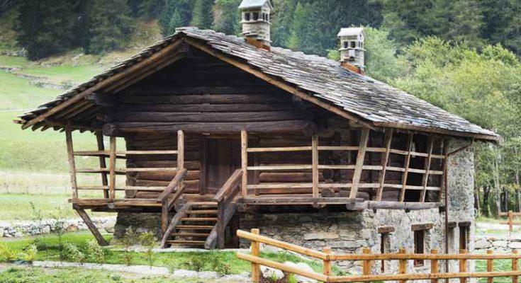 Lo stadel, la casa walser a due piani