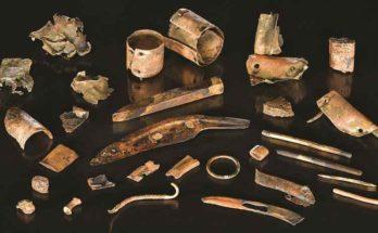 Kit del guerriero scoperto sul sito della battaglia di Tollense