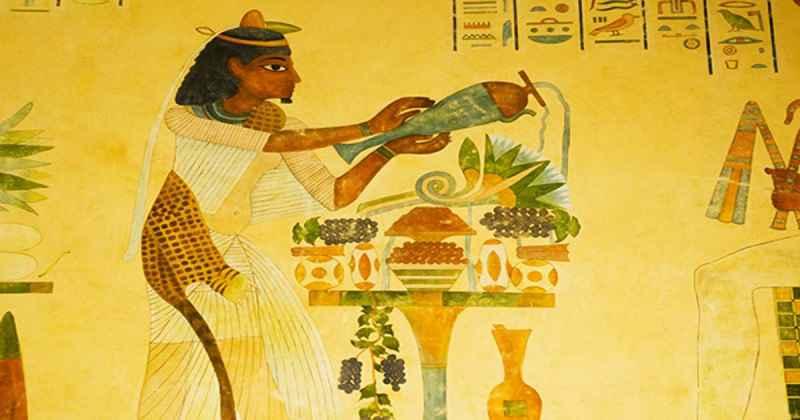 Dolci e bevande nell'antico Egitto