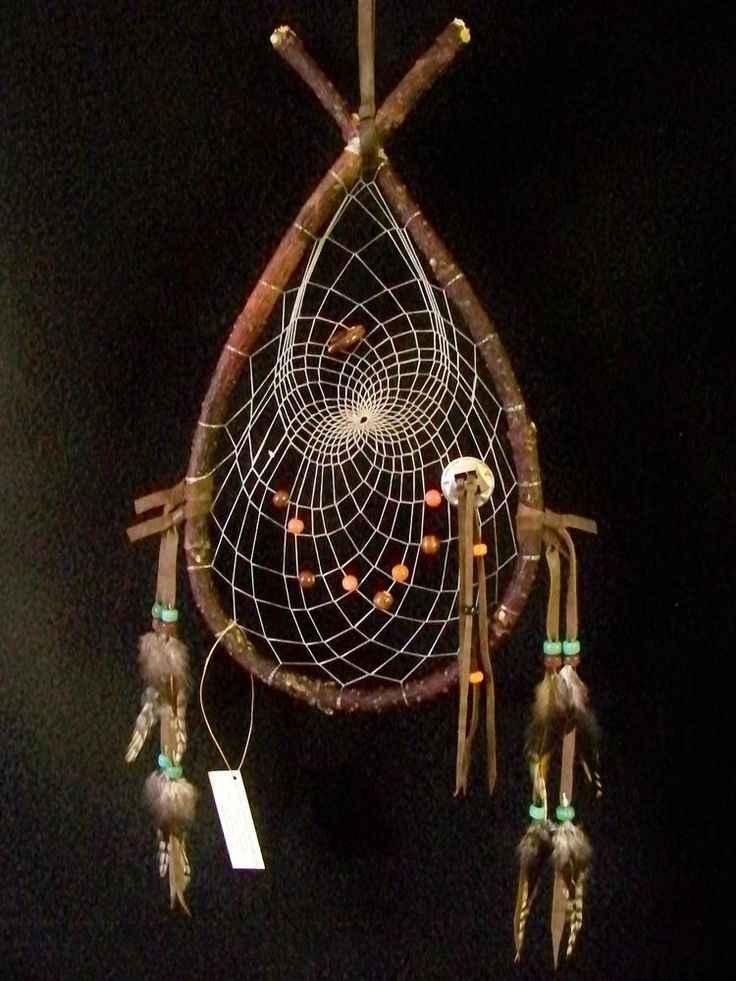 Acchiappasogni Ojibwe in salice rosso