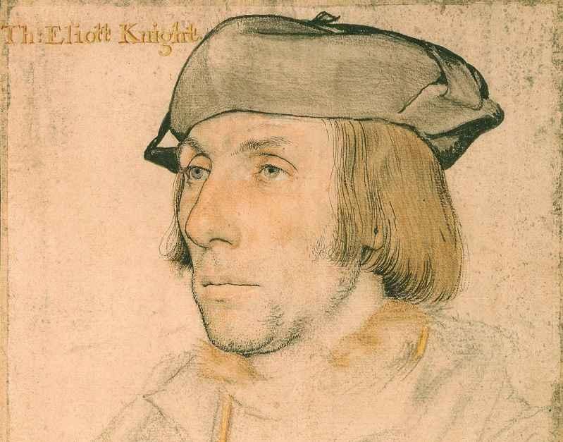 Ritratto di Elyot realizzato da Hans Holbein il Giovane