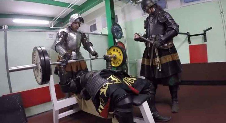 Come si allenavano i guerrieri medievali