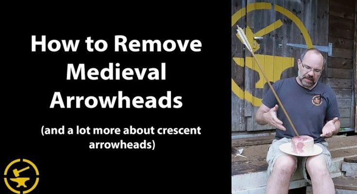 Come rimuovere una freccia medievale