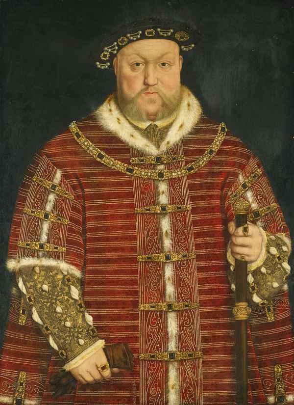 Ritratto di Enrico VIII, di Hans Holbein
